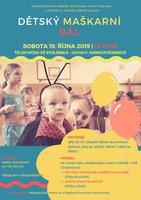 dětský plesík 2019 plakát